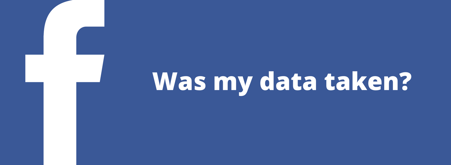 Did Facebook Take my Data