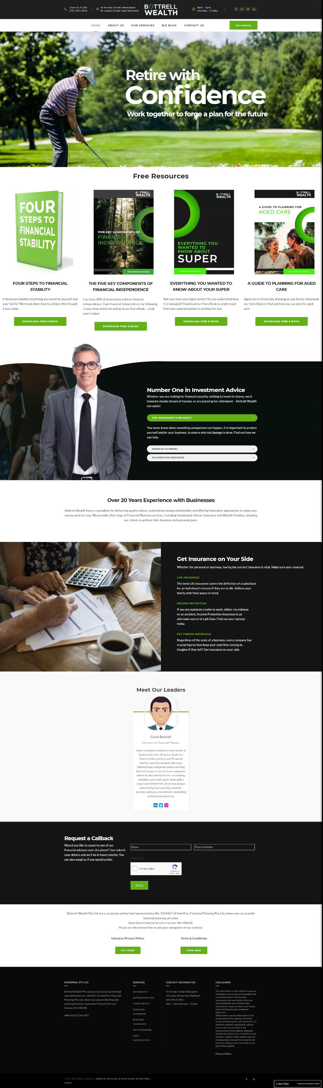 bottrell wealth full homepage
