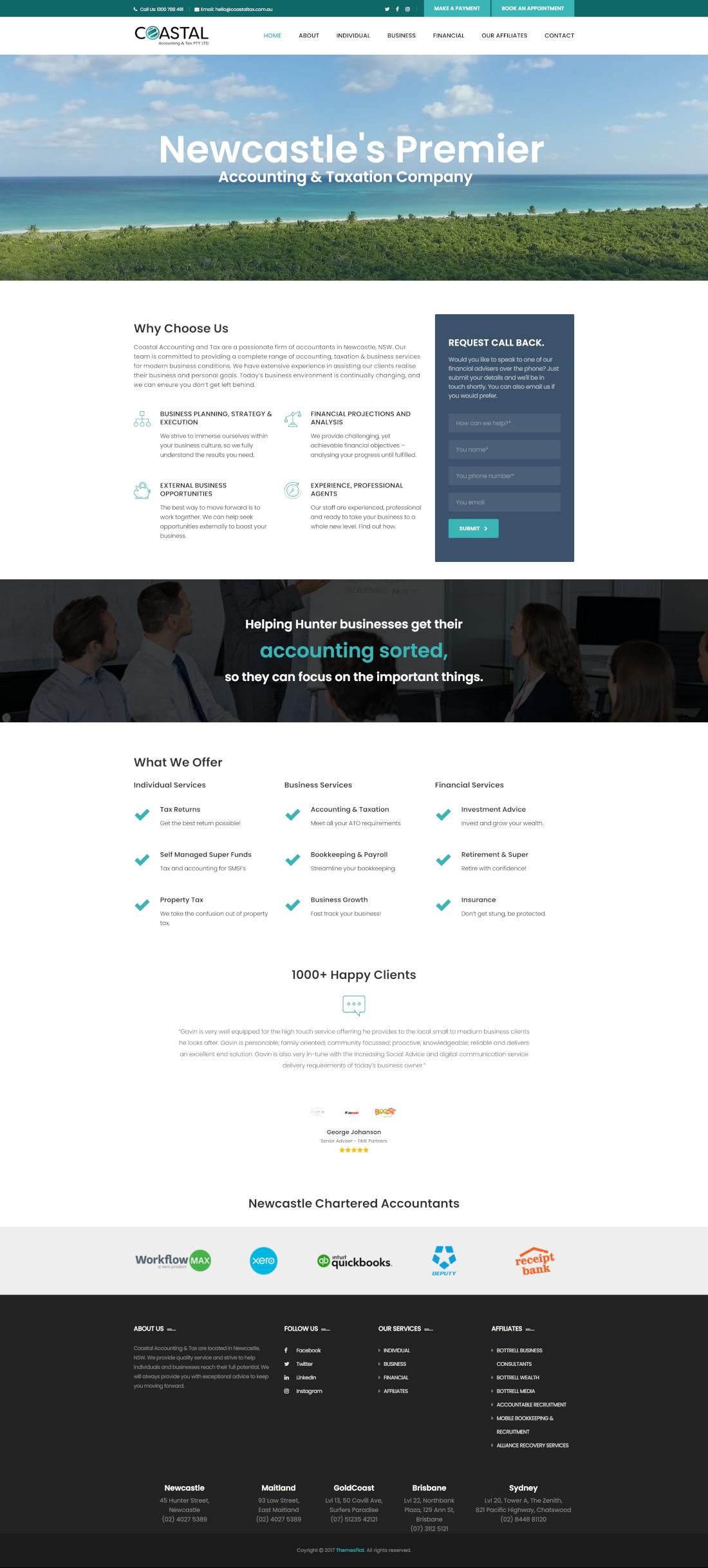 coastaltax full homepage