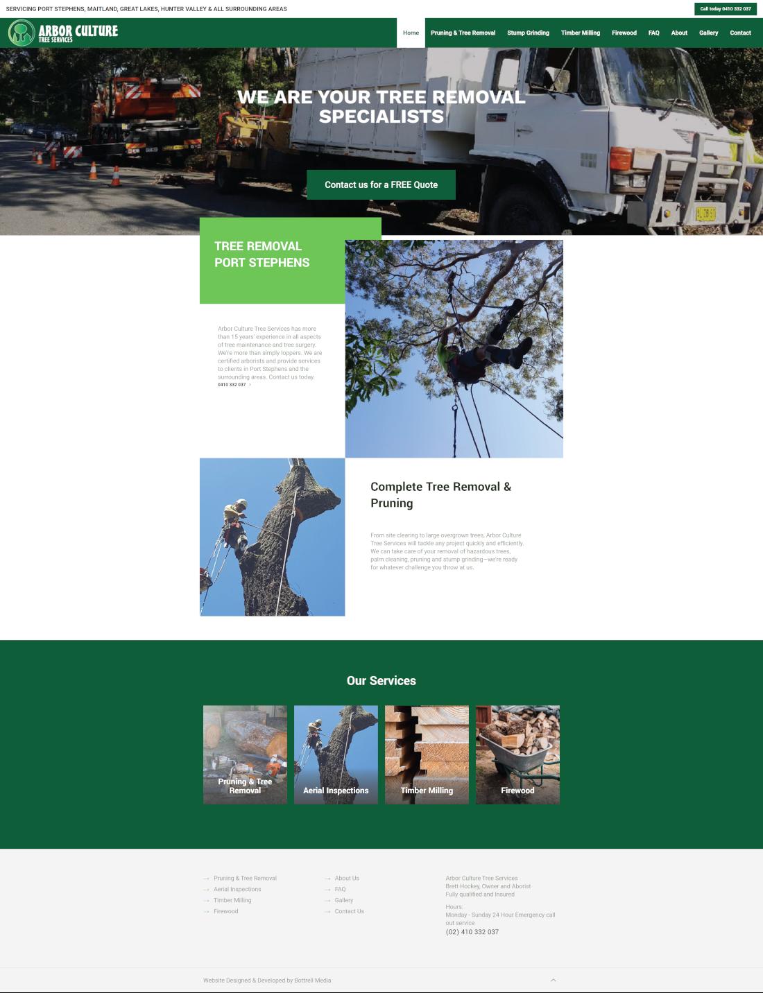 arborculture full homepage