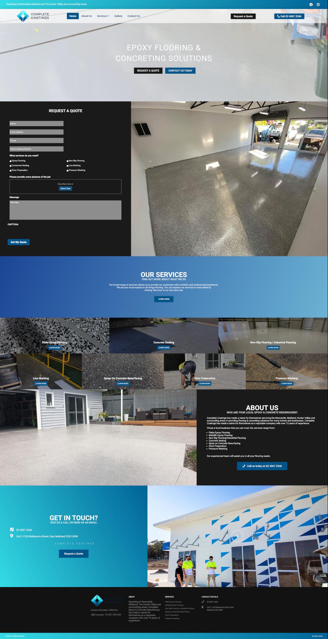 completecoatings full homepage