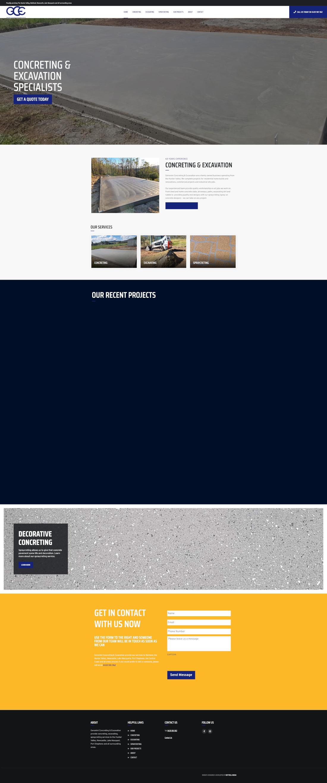 geronimi full homepage