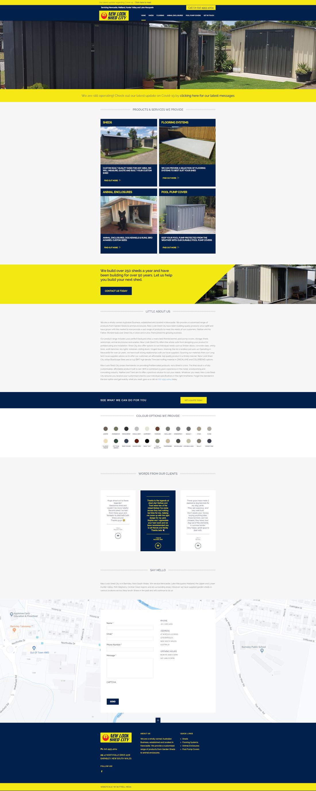 newlookshedcity full homepage